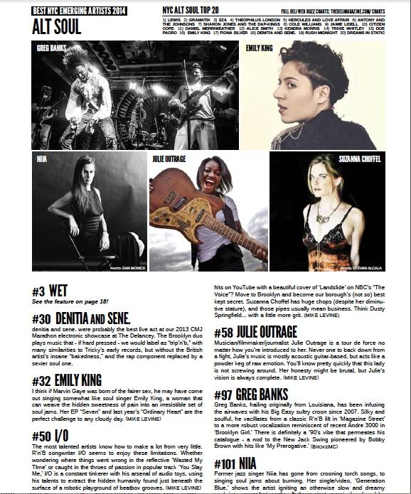Press – Deli Magazine Best NYC Emerging Artists 2014