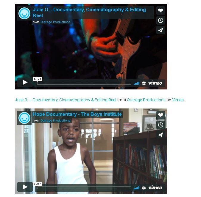 Video Page WordPress